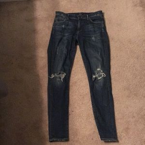 Distressed citizens of humanity Skinny Jeans